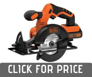 BLACK+DECKER MAX Cordless Circular Saw Review