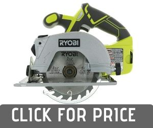 Ryobi P506 Cordless Circular Saw with Laser Guide Review