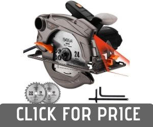 TACKLIFE Classic Circular Saw with Laser Review