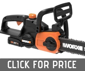 Worx WG322 Cordless Chainsaw Review
